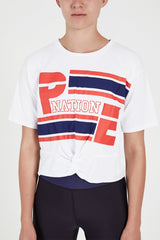 P.E NATION | Bencher Tee 2 - White