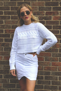 RTA | Tempest V skirt - Optic White