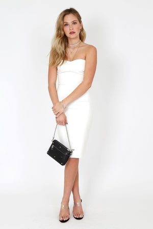 LIKELY | Laurens Dress - White