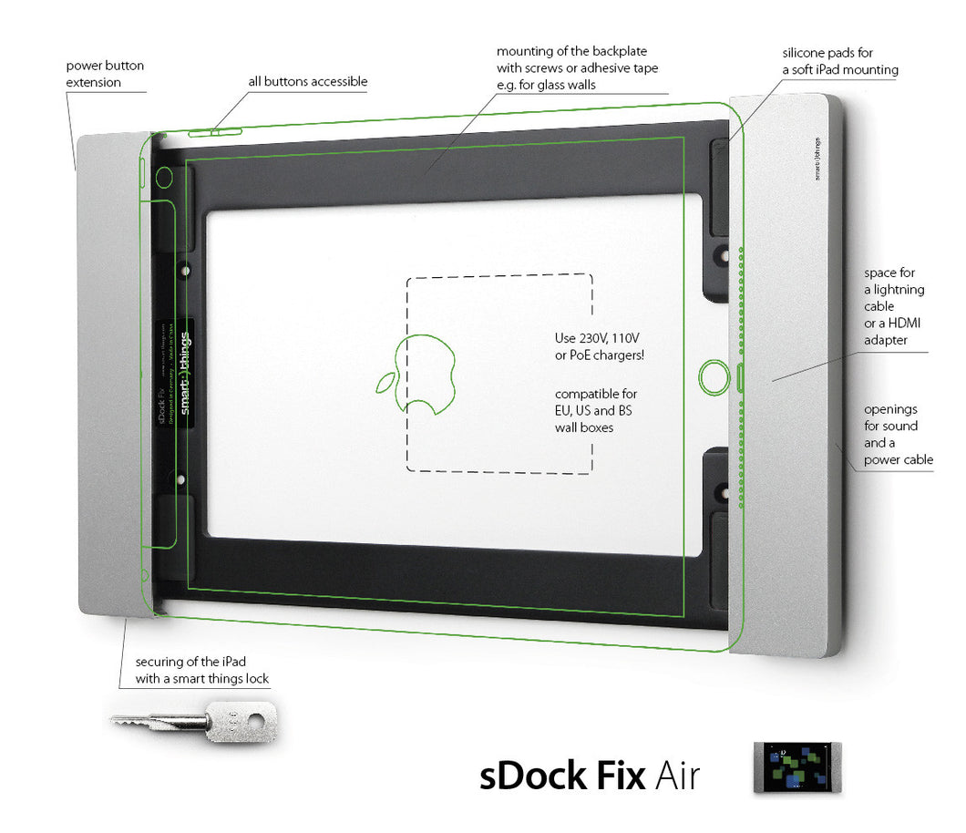 sDock Fix Air : smart things solutions