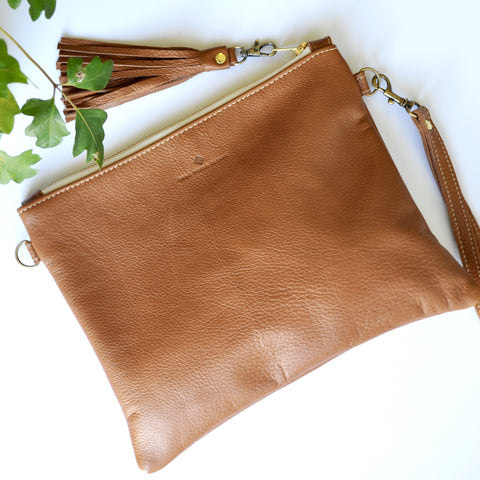 Australian handmade leather bag
