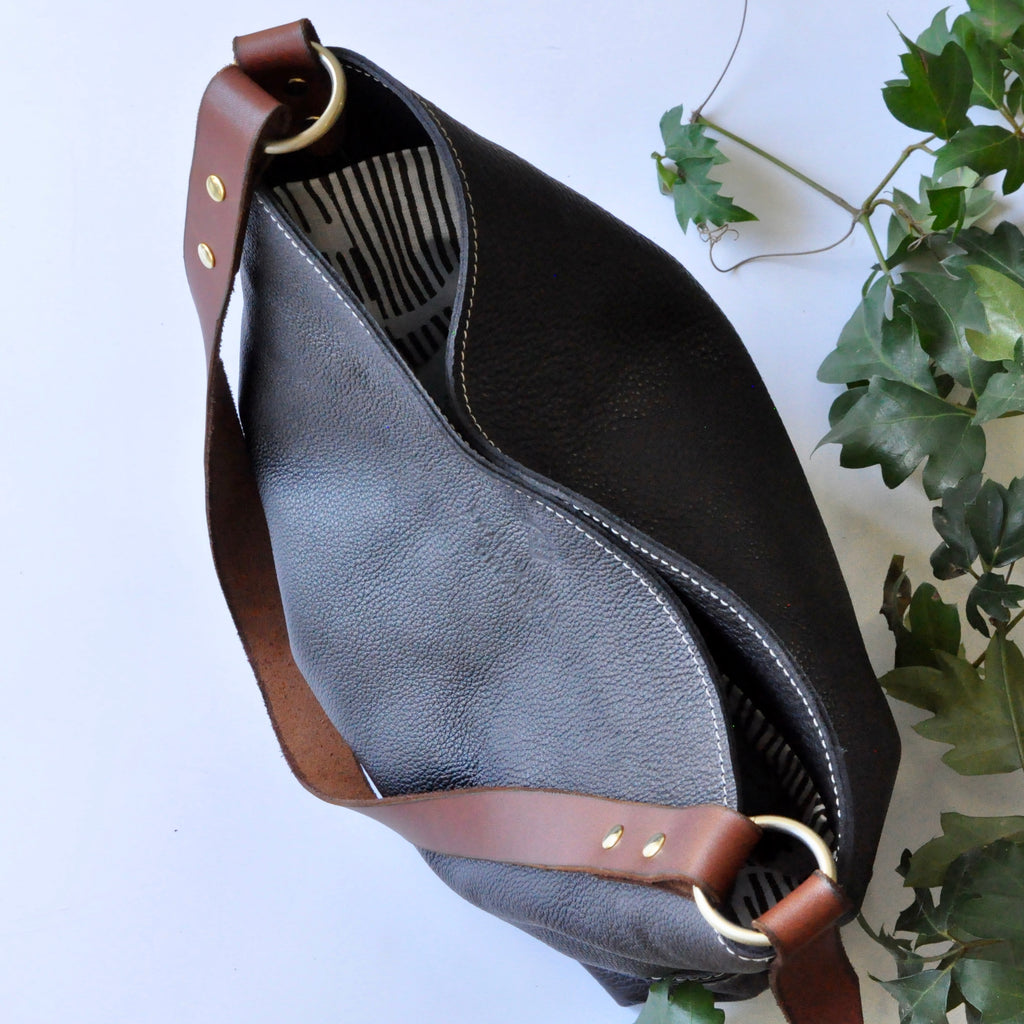 The Leather Hobo Bag - Small World Dreams