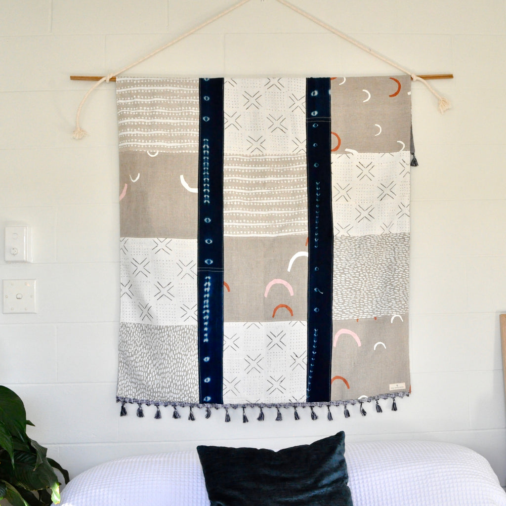 Indigo Blue Quilt - Small World Dreams