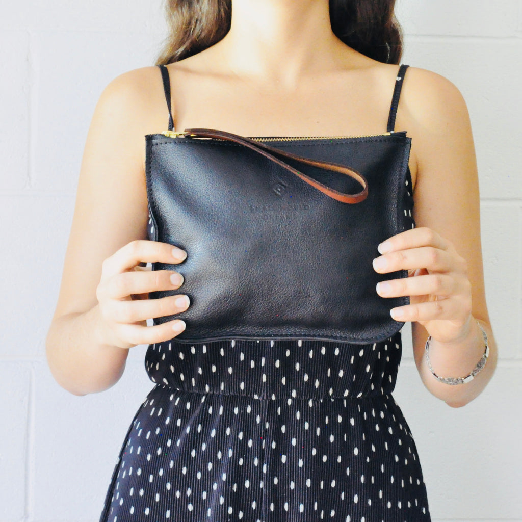 Leather Wristlet - Small World Dreams