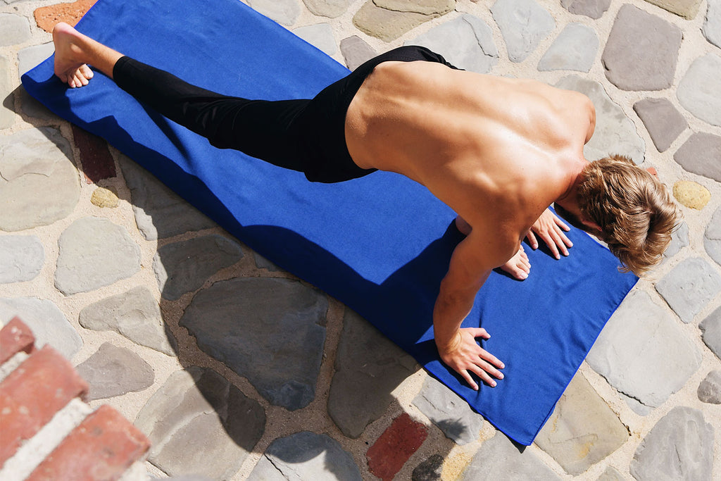 Welcoming Yoga Mat Towels to the Laguna Beach Textile Co. Family
