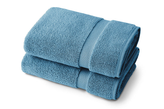Seal Blue Bath Towel - Set of Two