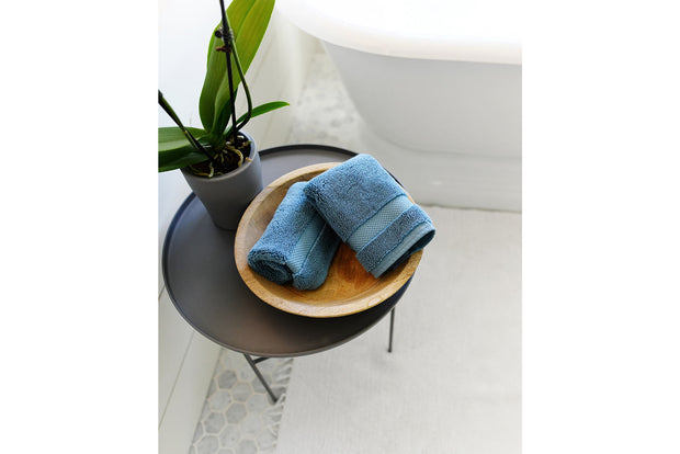 Seal Blue Washcloth Set 1