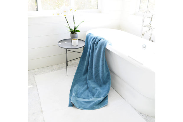 Seal Blue Bath Sheet 1