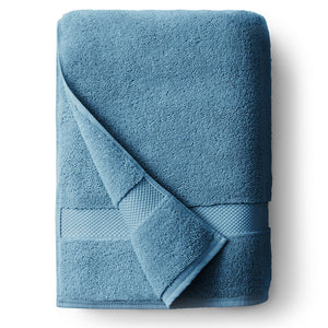 Seal Blue Single Bath Towel