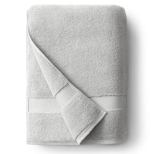 Cloud Gray Single Bath Towel