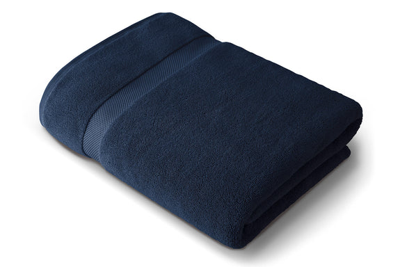 Navy Blue Bath Sheet