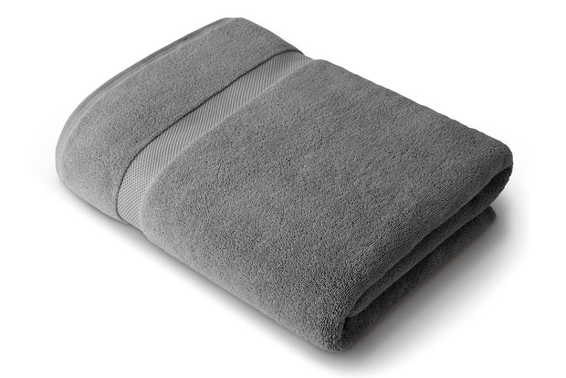 Pewter Gray Bath Sheet 1