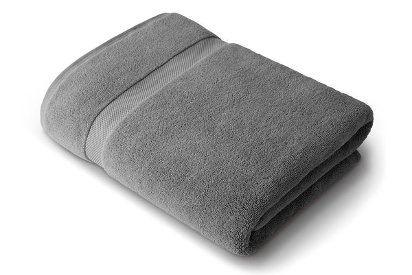 Pewter Gray Bath Sheet