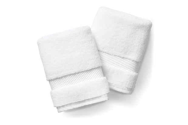 White Washcloth Set 1