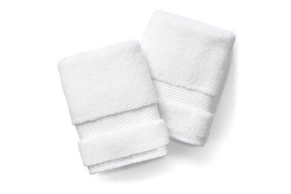 White Washcloth Set