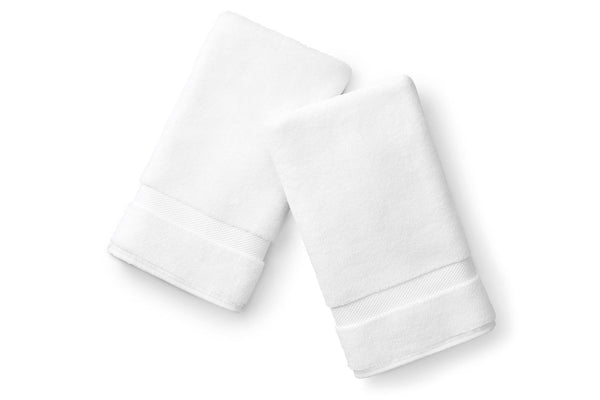 White Hand Towel Set