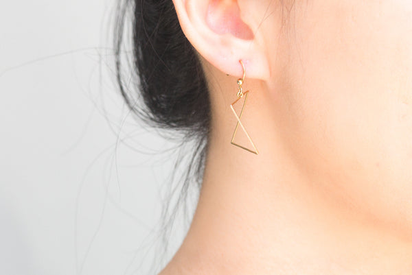 Diagonal Earrings - Alminty3D