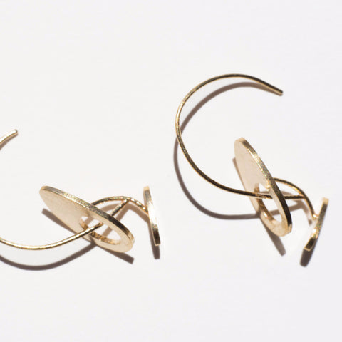 Span Earrings - Alminty3D  - 1
