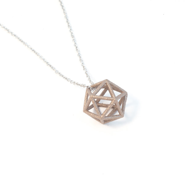Icosahedron Necklace - Small - Alminty3D
