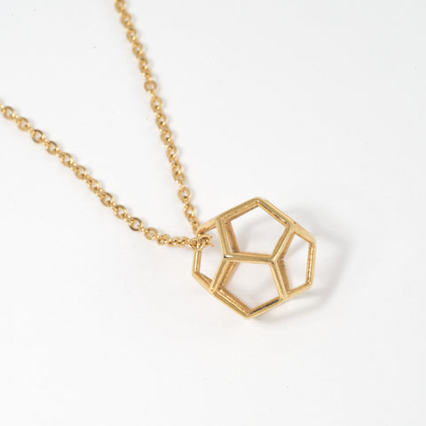 Dodecahedron Necklace - Alminty3D
