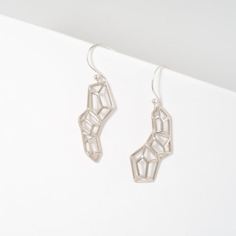 Tri-gem Earrings - Alminty3D
