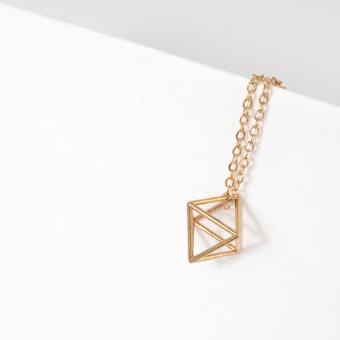 Octahedron Necklace - Alminty3D