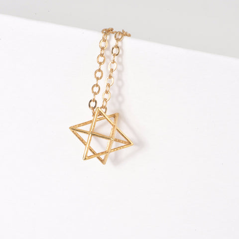 Stellated Octahedron Necklace - Alminty3D