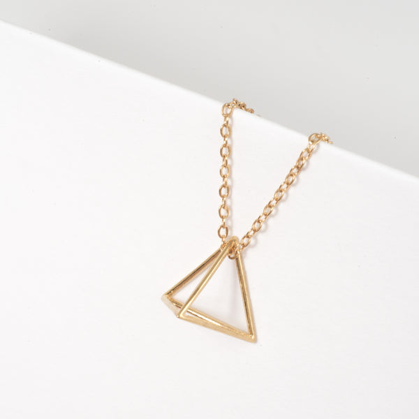 Tetrahedron Necklace - Alminty3D