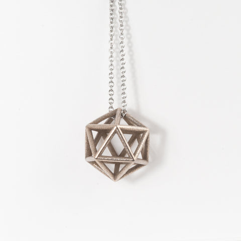 Icosahedron Necklace - Large - Alminty3D