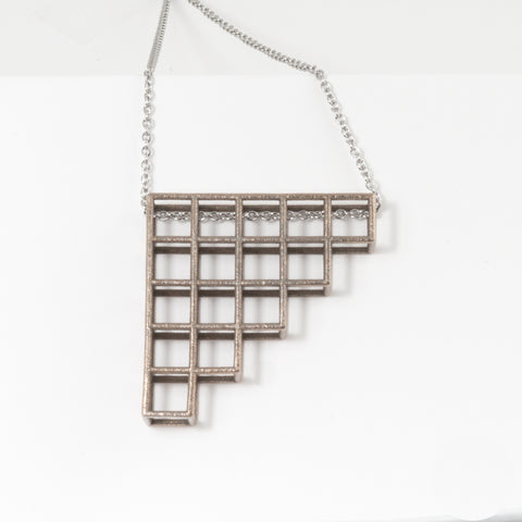 Tetris Pendant | Necklace - 3 - Alminty3D