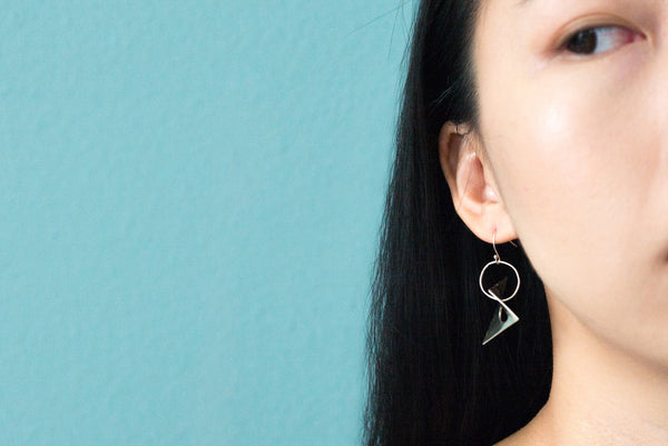 Hypar Earrings - Alminty3D