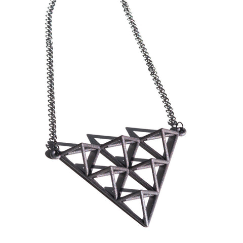 Tetrahedra Necklace - 2 - Alminty3D