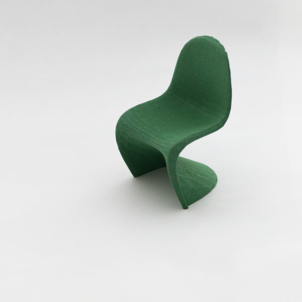 Designer Chair Miniature - Panton Chair - Alminty3D
