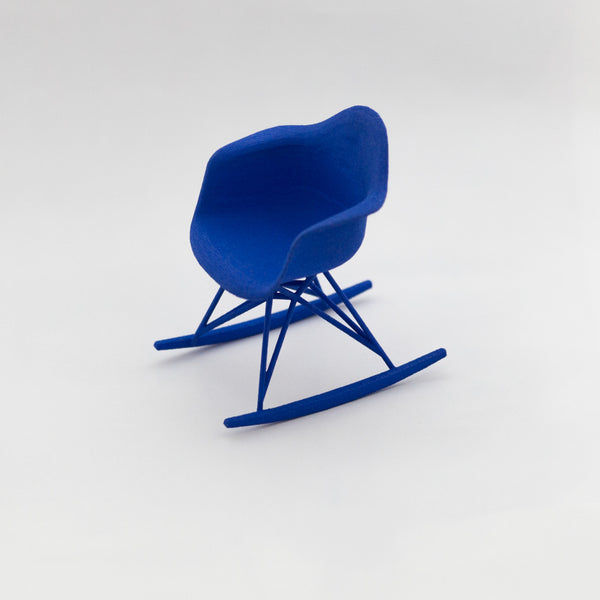 Designer Chair Miniature - Rocker - Alminty3D