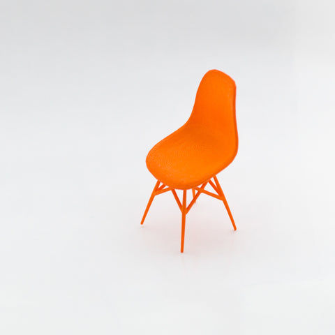 Designer Chair Miniature - Side Chair - Alminty3D