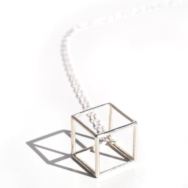 Cube Necklace - Alminty3D
