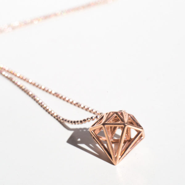 Diamond Necklace - Alminty3D