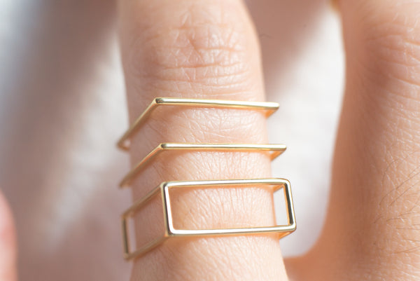 Rectangle Ring - Alminty3D