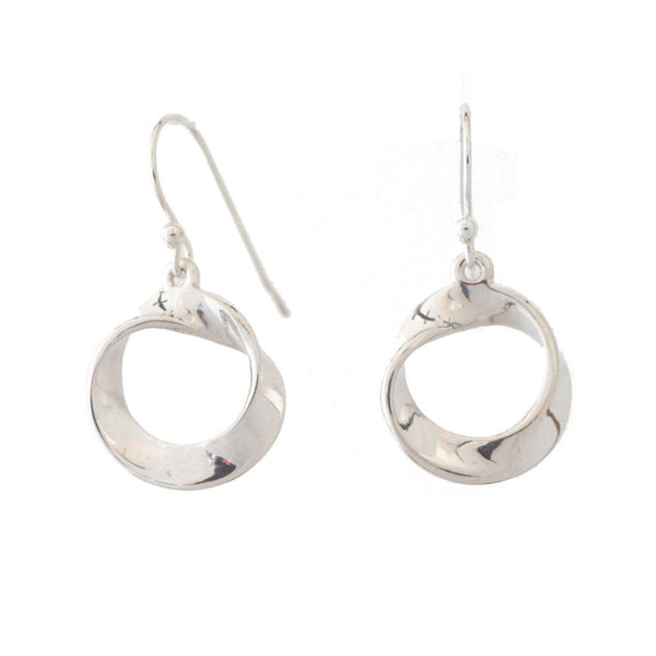 Mobius Strip Earrings - Alminty3D
