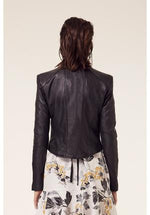 Once Was - Mahal washed leather jacket