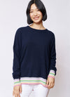Alessandra - Rainbow Rib Sweater