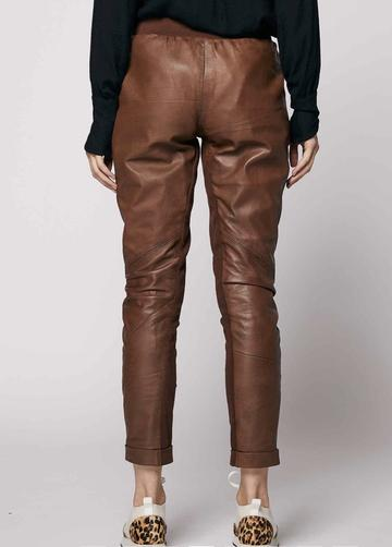 Once Was - Liberia Relaxed Leather pant