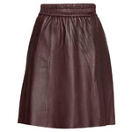 Second Female - Melvin A-Line Leather Skirt