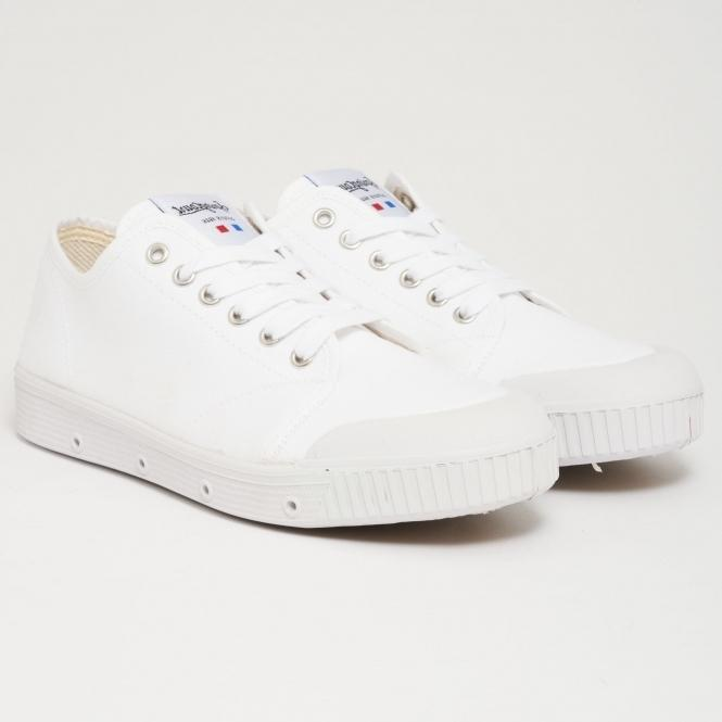 Spring Court Canvas Sneakers - white