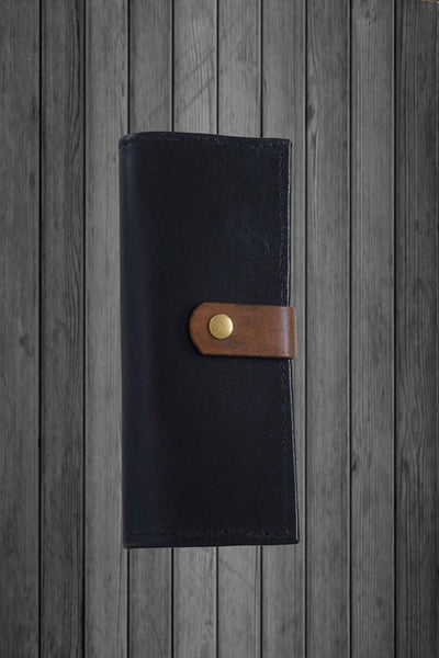 Black Kanagroo 12 card slot/Money wallet