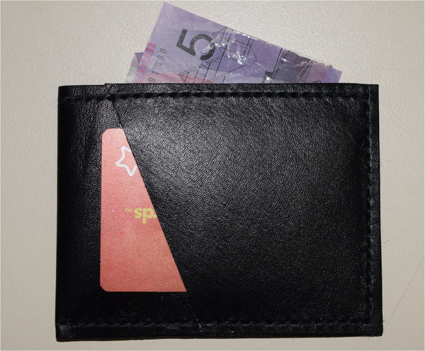 Black Kanagroo mini wallet
