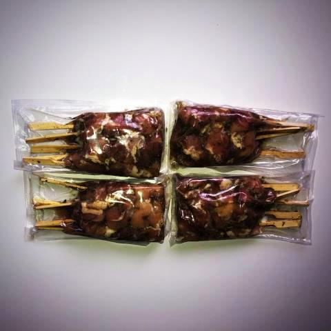 Seasoned Chicken Souvlaki Skewers (20 portions)