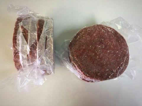 Image of 6 oz. Seasoned Bison Burgers (10 portions)