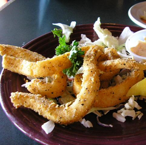 Seasoned Breaded Calamari Rings (random - 2.0 lbs.)