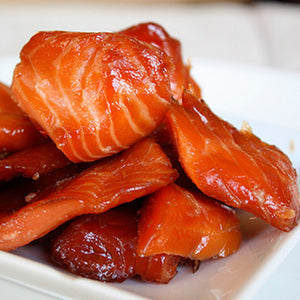 Boneless & Skinless Candied Salmon (2 x 1.0 lbs. portions)